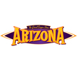 Arizona The Grand Canyon State vector image