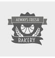 Bakery Retro Label logo or badge vector image vector image