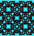 complex seamless pattern of rhombuses vector image vector image