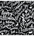 Halloween seamless pattern for your design vector image