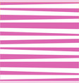 pink and white cute baby striped print vector image vector image