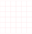 Pink Grid White Background vector image vector image