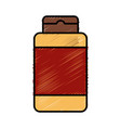 shampoo bottle product vector image
