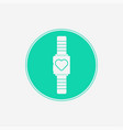 smartwatch icon sign symbol vector image vector image