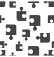 puzzle seamless pattern background icon business vector image
