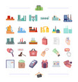 business bank trade and other web icon in vector image vector image