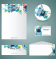business stationery mock up 2901 vector image vector image