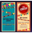 Circus Banners 04 B vector image vector image