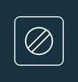 disabled icon line symbol premium quality vector image