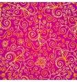 doodles vintage ornate seamless pattern vector image vector image