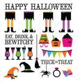Witchy Halloween vector image
