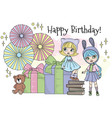 blythe party doll color vector image