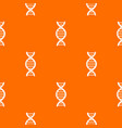 dna spiral pattern seamless vector image vector image