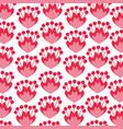 floral pattern background decoration card vector image vector image