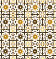 Pattern lattice abstraction vector image vector image