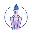 potion line color icon vector image