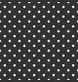 seamless dark pattern with white polka dots vector image