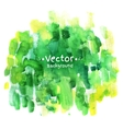 Watercolor hand painted background vector image vector image