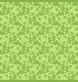 greenery floral dandelion seamless pattern texture vector image