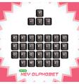 3d Keyboard Keys vector image vector image