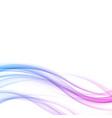 bright modern futuristic elegant wave lines vector image vector image