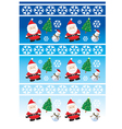 Chrismtas Background vector image vector image