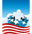 fourth july vector image