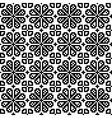 Geometrical flower seamless pattern vector image vector image
