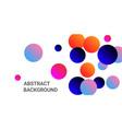 gradients balls shapes vector image