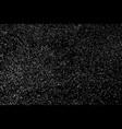 grainy texture black new 2017-8460 vector image vector image
