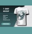 joker t-shirt template fully editable vector image
