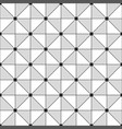 monochrome mesh seamless pattern tiles triangular vector image