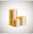 stack money vector image