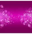 Abstract Pink Circle Background vector image