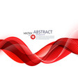 abstract background wavy vector image vector image