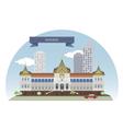 Bangkok vector image vector image