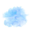 colorful abstract background soft blue and vector image vector image