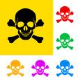 Danger sign vector image vector image