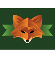 Fox Graphic vector image vector image