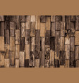 pattern of wood vector image
