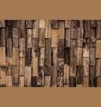 pattern wood vector image