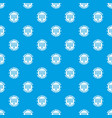 pc data security pattern seamless blue vector image