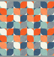 seamless abstract retro geometric pattern vector image vector image