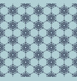 snowflake blue seamless pattern eps 10 vector image vector image