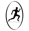 Athletics Running vector image