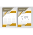 brochure template A4 format layout Home vector image
