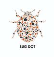 Bug Dot vector image