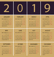 Calendar 2018 year week starts with monday