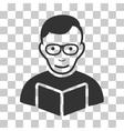 Reader Icon vector image vector image