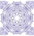 Seamless ornament pattern with circles vector image
